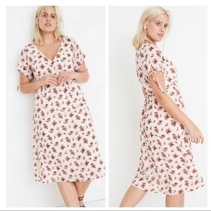 Madewell $158 floral prairie dress ✨plus size 14